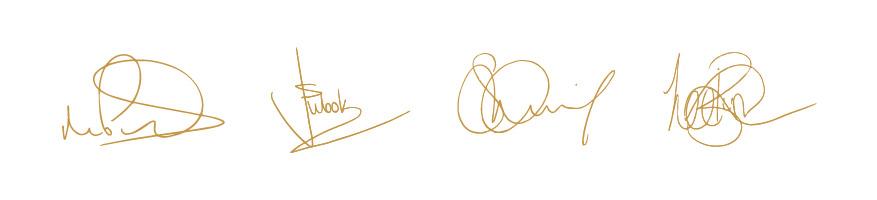 FabFour Coffee Signatures